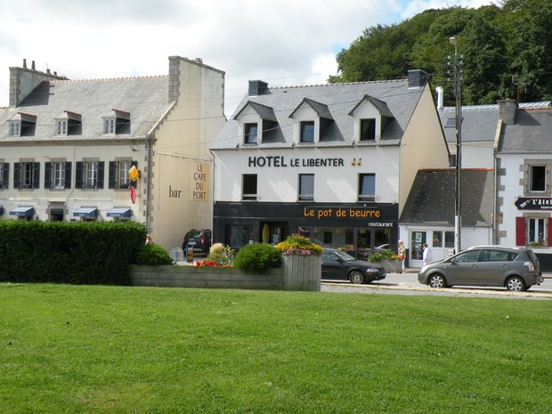 h 244 tel le libenter et restaurant le pot de beurre l aber wrac h en photo