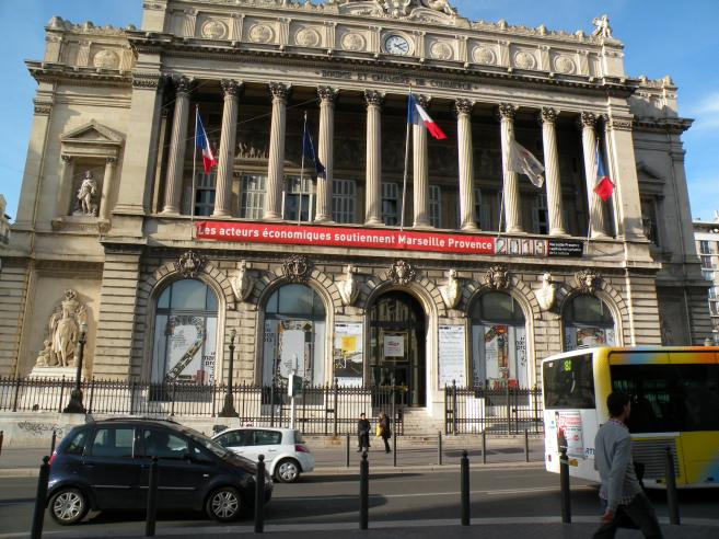 Bourse Et Chambre De Commerce Marseille En Photo