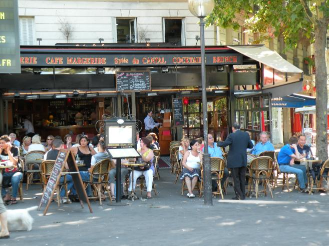cafe margeride place d 39 italie paris en 2009 en photo. Black Bedroom Furniture Sets. Home Design Ideas