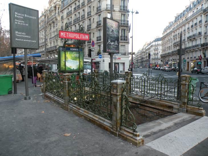 photo de paris en 2010 bouche de m tro station rennes. Black Bedroom Furniture Sets. Home Design Ideas