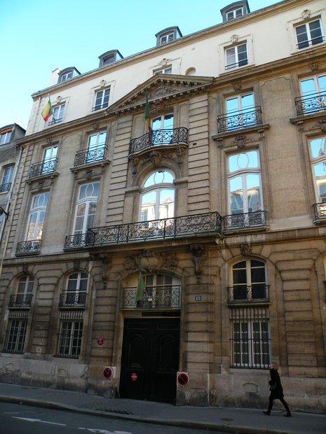 Photo de paris en 2011 ambassade du mali h tel de for Cherche un hotel