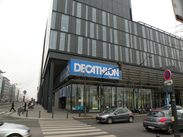 Decathlon Avenue De France Ann 233 E 2011 224 Paris En Photo